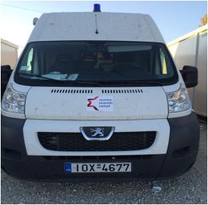 Medical van - enabled with WJR funds